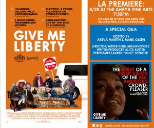 Movie Poster Give Me Liberty