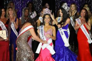 Joanna Hairabedian, Ms. West Coast was crowned Ms. America® 2019 at the National Pageant held Saturday, August 24, 2019 at the Queen Mary in Long Beach, California.