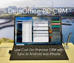 Office in Holland using DejaOffice PC CRM