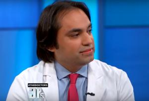 Tansar Mir, MD, plastic surgeon in New York, on the TV Show The Doctors