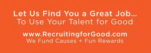 Looking for Your Next Tech Job...Consider Being Represented By Recruiting for Good