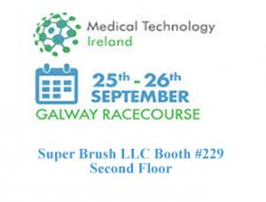 The Super Brush team will be located on the second floor at booth #229