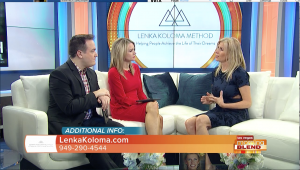 International Best-Selling Author and inspiring entrepreneur, Lenka Koloma appears on ABC's Las Vegas Morning Blend News and explains about her mission of helping people to create the life of their dreams.