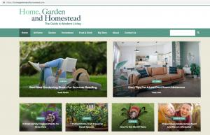 home garden and homestead website has won a 2019 Gold Medal of Achievement for Best Overall Garden Website.