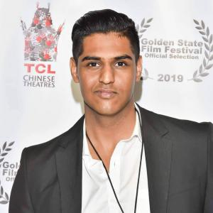 "Divyansh Sharma at the premiere of ""Graffiti"" at Chinese Theatre"