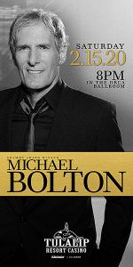 Michael Bolton at Tulalip
