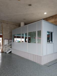 South Station Modular Security Booth
