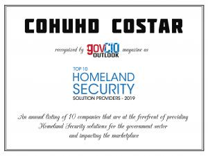 Homeland Security Award for Top 10 Solution Providers