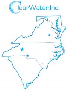 Headquartered in Hickory, NC, ClearWater, Inc. is Electro Scan's exclusive representative in a four-state region.