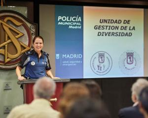 The event also featured the work of the Diversity Management Unit of the Madrid Police.