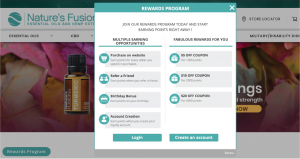 Nature's Fusions Loyalty Reward Program