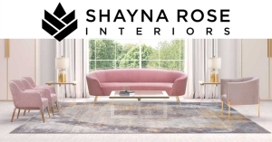 Shayna Rose Interiors logo and design example