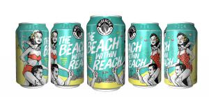 A photo of WISEACRE's Beach Within Reach in cans