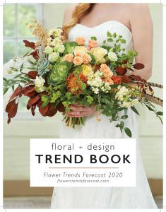 Cover for 2020 TREND BOOK from Flower Trends Forecast
