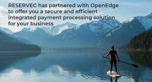 RESERVEC Partners with OpenEdge for Online Credit Card Payments