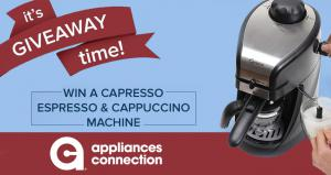 Appliances Connection Columbus Day Giveaway