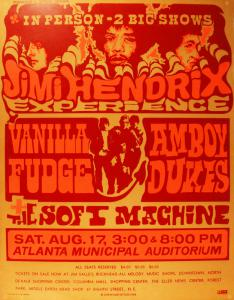 An $8000 Reward Is Offered For This Jimi Hendrix 8/17/68 Atlanta Municipal Auditorium
