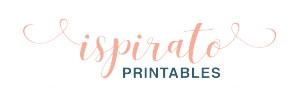 Ispirato Printables Logo. Stationery Design