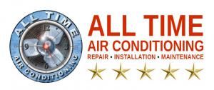 Logo for the ac repair company All Time Air Conditioning
