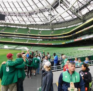 South Jersey RFC visit the Aviva Stadium in Dublin