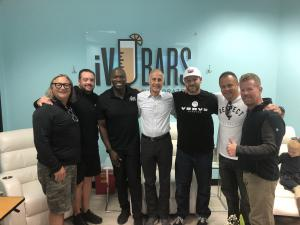 Verve and iVBars executives with Phil Coke and Scott Huesing