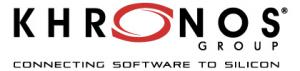 Khronos Releases OpenVX 1.3 Open Standard for  Cross-Platform Vision and Machine Intelligence Acceleration