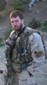 An image of US Navy SEAL LT Michael P. Murphy, taken in Afghanistan in 2005.